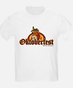Oktoberfest Dachshund and Accordian T-Shirt
