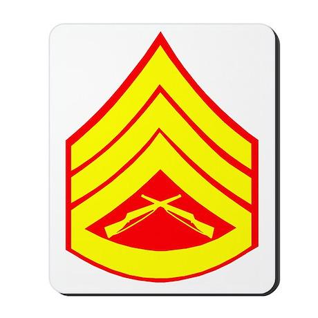 USMCStaffSergeantCupBlues.gif Mousepad