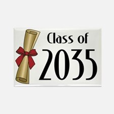 Class of 2035 Diploma Rectangle Magnet (10 pack)