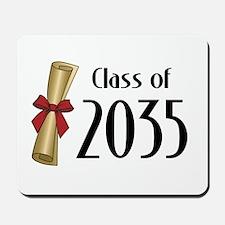 Class of 2035 Diploma Mousepad