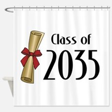 Class of 2035 Diploma Shower Curtain