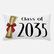 Class of 2035 Diploma Pillow Case