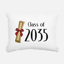 Class of 2035 Diploma Rectangular Canvas Pillow