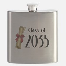 Class of 2035 Diploma Flask