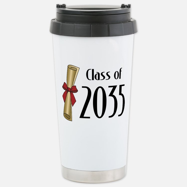Class of 2035 Diploma Travel Mug