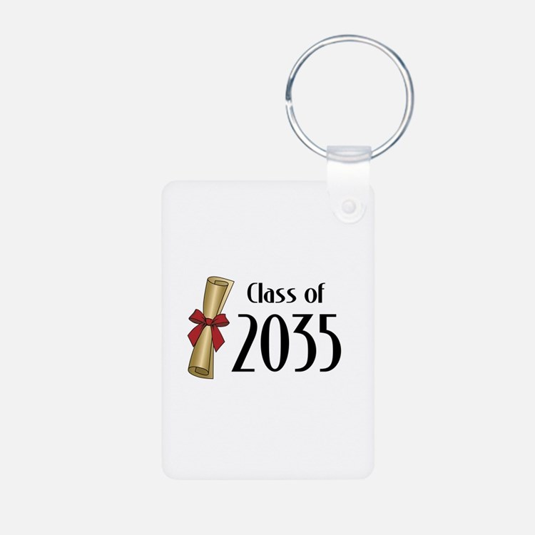 Class of 2035 Diploma Keychains