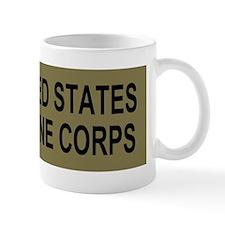 USMCGunnerySergeantBumperstickerGreens. Mug