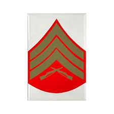 USMCSergeantCupGreens.gif Rectangle Magnet