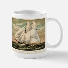 Yacht Norseman of New York - 1882 Mug