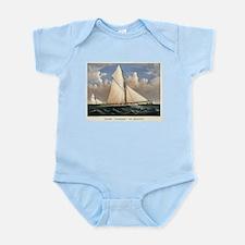 Yacht Puritan of Boston - 1885 Infant Bodysuit