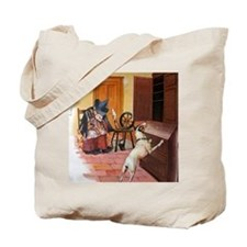 The Cupboard Was Bare, Old Mother Hubbard Tote Bag