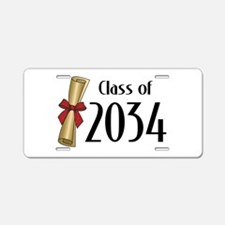 Class of 2034 Diploma Aluminum License Plate