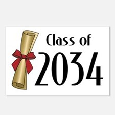 Class of 2034 Diploma Postcards (Package of 8)