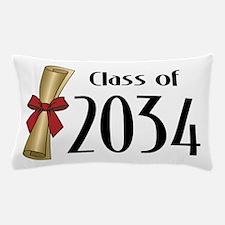 Class of 2034 Diploma Pillow Case