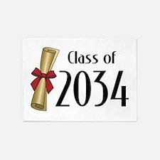 Class of 2034 Diploma 5'x7'Area Rug