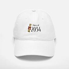 Class of 2034 Diploma Baseball Baseball Cap