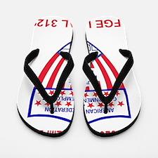 AFGELocal3129RedJersey.gif Flip Flops
