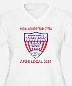 AFGELocal2369RedJ T-Shirt