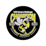 "3.5"" Button 9:00 Science Challenge Champion"