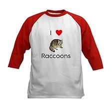 I Love Raccoons Tee