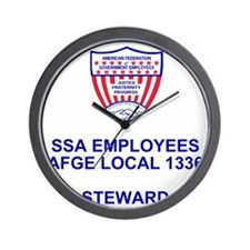 AFGE1336Steward.gif Wall Clock