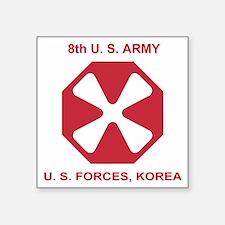 """Army8thArmyShirt1.gif Square Sticker 3"""" x 3"""""""