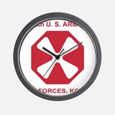 Army8thArmyShirt1.gif Wall Clock