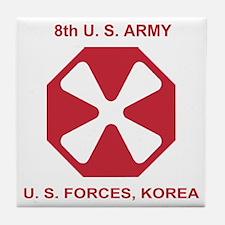 Army8thArmyShirt1.gif Tile Coaster