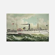 Steamer Penobscot - 1883 Magnets