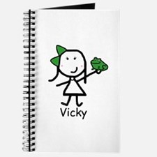 Frog - Vicky Journal