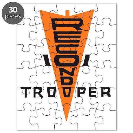 Army101stAirborneDivRecondoTrooperTabBonnie Puzzle