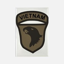 Army101stAirborneVietnamPatchBonn Rectangle Magnet