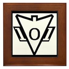 my101stAirborneDivisionRecondoSchoolLo Framed Tile