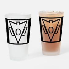 my101stAirborneDivisionRecondoSchoo Drinking Glass