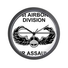 Army101stAirborneDivShirt3.gif Wall Clock