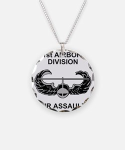 Army101stAirborneDivShirt3.g Necklace Circle Charm