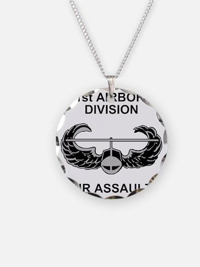 Army101stAirborneDivShirt3.g Necklace Circle Charm