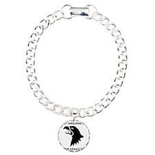 Army101stAirborneDivisio Charm Bracelet, One Charm