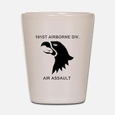 Army101stAirborneDivisionShirtBack.gif Shot Glass