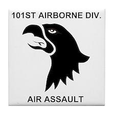 Army101stAirborneDivisionShirtBack.gi Tile Coaster