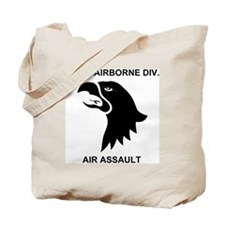 Army101stAirborneDivisionShirtBack.gif Tote Bag