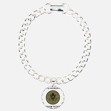 Army101stAirborneVietnam Charm Bracelet, One Charm