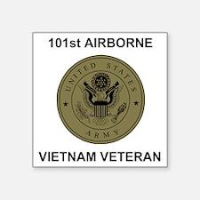 "Army101stAirborneVietnamShi Square Sticker 3"" x 3"""