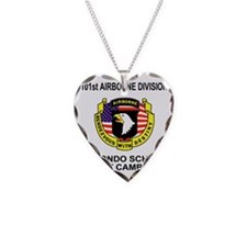 Army101stAirborneRecondoShirt Necklace