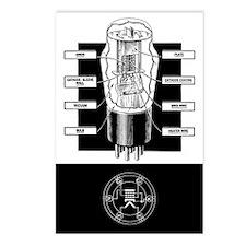 Vacuum Tube Postcards (Package of 8)
