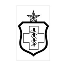 USAFEnlistedMedicalBadgeSenior Decal