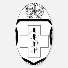 USAFEnlistedMedicalBadgeCommandLeve Decal