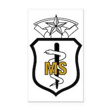 USAFMedicalServiceCorpsComman Rectangle Car Magnet