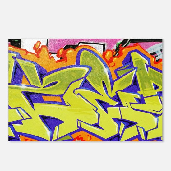 Graffiti Postcards (Package of 8)