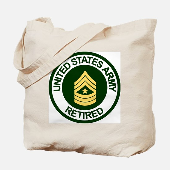 ArmyRetiredSergeantMajor.gif Tote Bag